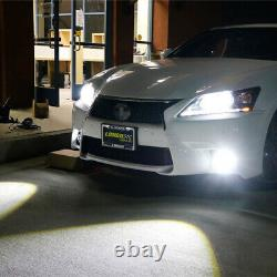 2x D2S 35W 6000K HID Xenon Replacement LowithHigh Beam Headlight Lamp Bulbs White