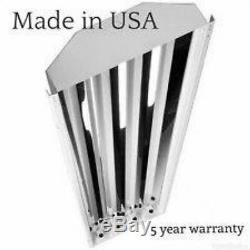 4 LAMP T5HO High Bay Fluorescent Light Fixture (QUANTITY 16 With BULBS) NEW