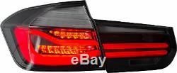 CLEAR LED Taillights Sequential Turn Sig for 12-18 BMW 3er 3 Series F30 F31 F80