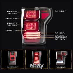 Clear LED Taillights Rear Brake Light For Ford F-150 2018 2019 2020 US Stock