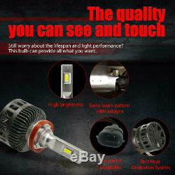 Combo Pack LED Headlight Bulb Lamp 9005 H11 8000LM High Low Beam Best Brightness