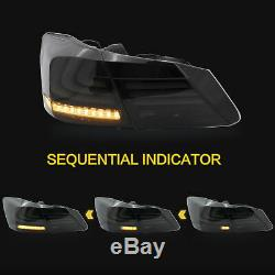 Custom SMOKE Fiber Optic LED Taillights with Sequential for 13-15 Accord