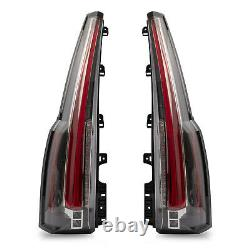 Customized Escalade Style LED Clear Taillights For 2015-2020 Chevrolet Tahoe