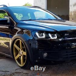 Customized LED Headlights with DRL DEMON EYES for 2010-2013 Golf MK6