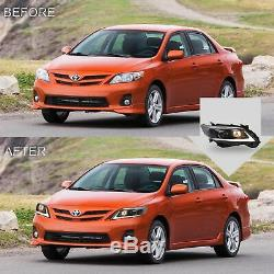Customized LED Headlights with DRL for 2011-2013 COROLLA Assembly