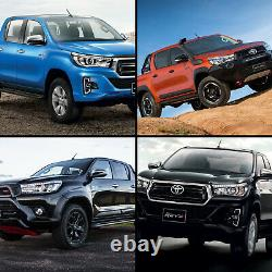 Customized LED Headlights with Sequential Turn Sig. For 16-19 Toyota Hilux