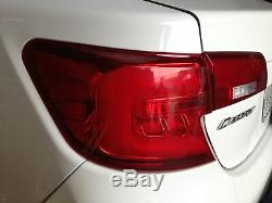 Customized RED CLEAR LED Tail Lights Assembly for 2012 2014 Toyota Camry