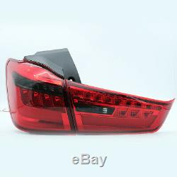 Customized RED SMOKED LED Tail Lights for 11-19 Outlander Sport RVR 13-15 ASX