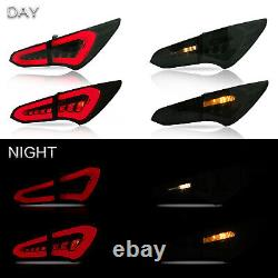 Customized SMOKED LED Tail Lights ONLY for 2013-2018 Hyundai Santa Fe Sport