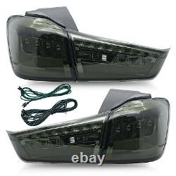 Customized SMOKED LED Tail Lights for 11-19 Outlander Sport RVR 13-15 ASX