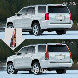 Fiber Optic Escalade Style LED Taillights For 2015-2020 Chevrolet Tahoe Suburban