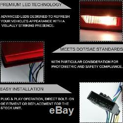 Fiber Optic RED LED Taillights Sequential for 12-18 BMW 3 Series F30 F80 3er
