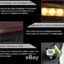 Fiber Optic Red LED Taillights for 13-16 FR-S 17-19 Toyota 86 13-20 Subuaru BRZ