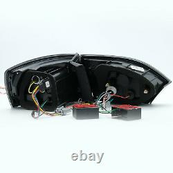 For 2011-2014 VW Jetta MK6 SMOKED with Sequential Turn Signal Tail Lights Assembly