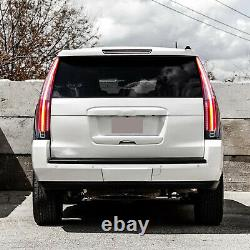For 2015-2020 GMC Yukon /XL CLEAR Escalade Style LED TailLights Assembly