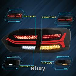 For Volkswagen JETTA 20112019 LED Sequential Headlight Taillight Left&Right Set