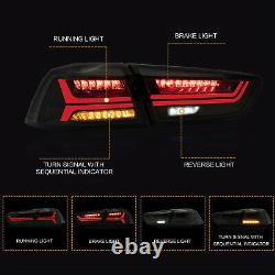Free Shipping to PR for 08-17 Lancer SMOKE Tail Lights with Sequential Turn Sig