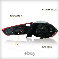 Free Shipping to PR for 11-19 Outlander Sport RVR 13-15 ASX RED SMOKE TailLights