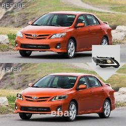 Free Shipping to PR for 2011-2013 COROLLA LED Headlights with DRL