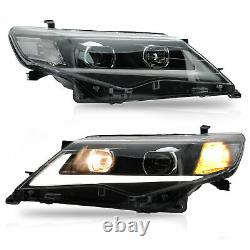 LED Headlight Projector Replacement Turn Signal Light for 2012-2014 Toyota Camry