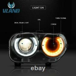 LED Headlights for 15-20 Challenger Direct Replacement Right/Passenger side