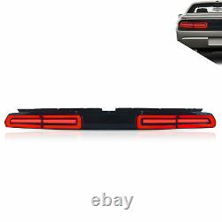 LED Sequential Taillight Taillamp Rear Brake Lamp for 2008-2014 Dodge Challenger
