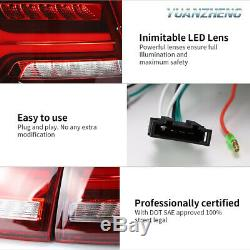 LED Taillights For Volkswagen VW Jetta MK6 2011-2014 Rear Lamp R+L Assembly Red