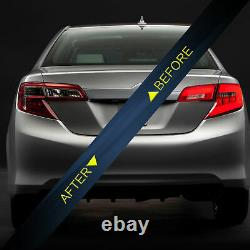 Red LED Tail Lights for 2012-2014 Toyota Camry Turn Signal Lamp Rear Reverse DRL