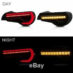 SMOKED LED Tail Lights for 13-16 Scion FR-S 17-19 Toyota 86 13-20 Subaru BRZ