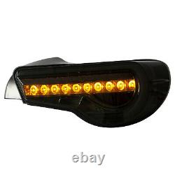 SMOKED LED Taillights for 13-16 Scion FR-S 17-19 86 13-20 Subaru BRZ