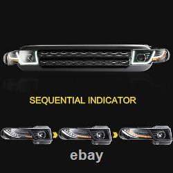 VLAND For 2007-2014 Toyota FJ Cruiser Head Sequential Lamps Headlight Assembly