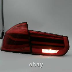 Vland Rose Red LED Sequential Taillight for 12-18 BMW F30 3er 3 Series F80 M3