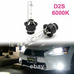 2x D2s 35w 6000k Hid Xénon Remplacement Lowithhigh Beam Lampe De Phare Ampoules Blanches