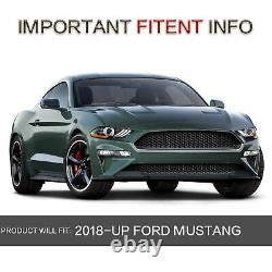 Phare À Led Double Beam Phares Gauche Et Droite Pour 2018 2019 2020 Ford Mustang