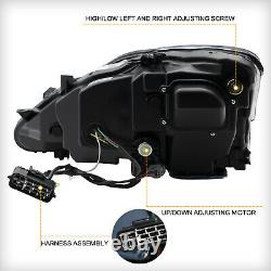 Phares À Led Amber Full Pour 2006-2013 Lexus Is250 Berline Front Lights Assembly
