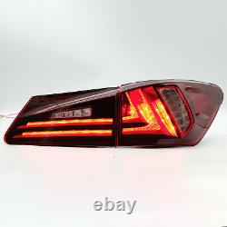 Phares Led Clear + Phares Red Clear Pour 06-13 Is250/350 Sedan 08-14 Is F