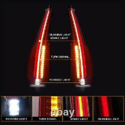 Pour 2015-2020 Gmc Yukon /xl Clear Escalade Style Led Taillights Assemblage