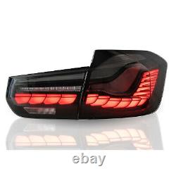 Vland Gts Oled Style Full Led Smoke Sequential Tail Light Pour 12-18 Bmw F30 F80
